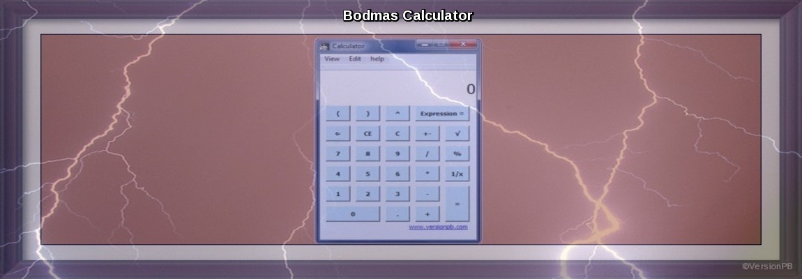 Bodmas Calculator